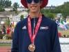 Liam Espedido Bronze Medal in High Jump