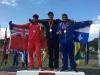Rowan Hamilton Gold on podium