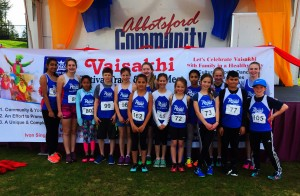 Valley Royals Athletes & Vaisakhi Sign